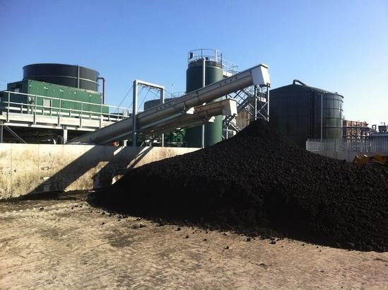 Energy efficient sludge dewatering for Stockport WTW