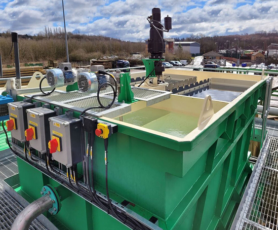 Lamella settling tank from MSE Systems