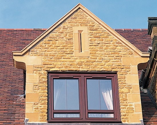 Stone Gable Vents : Cast stone gable vents haddonstone esi building design