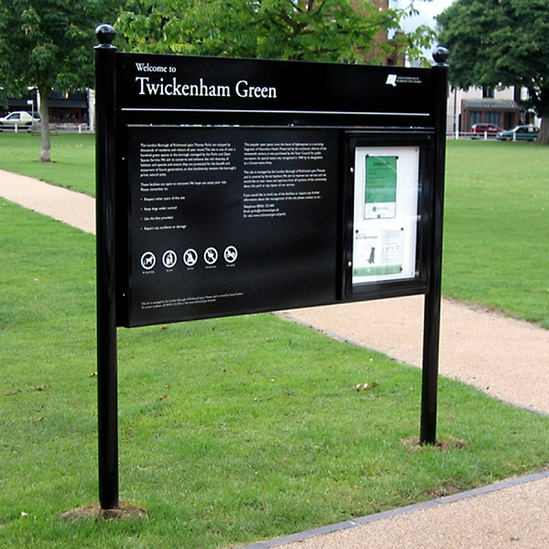 Signage for Richmond parks