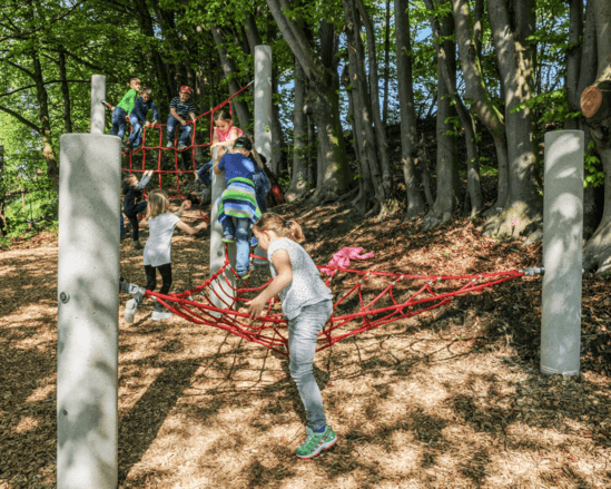 Timberplay Concrete Rope Course