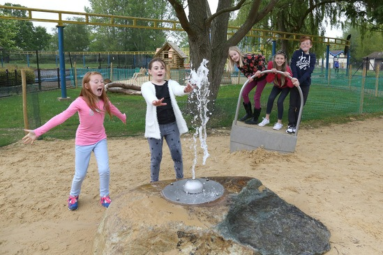 Wicksteed Park Water Play