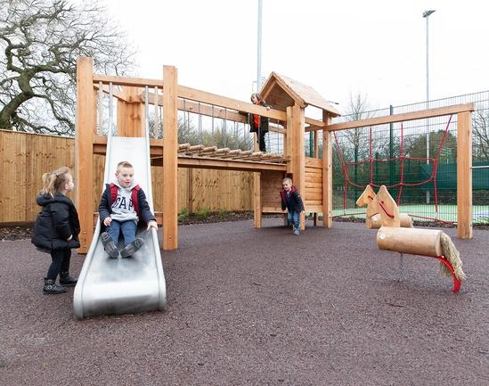 Play area created for David Lloyd