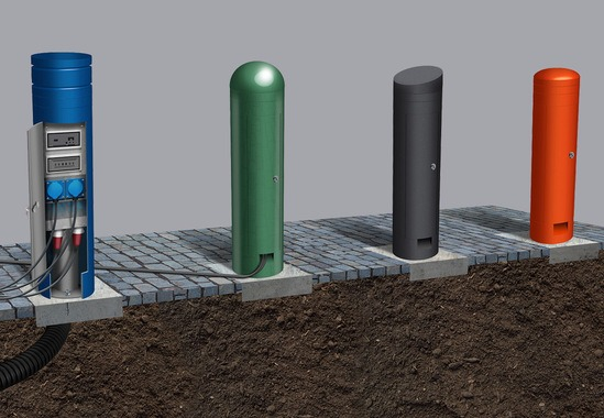 Power Bollards