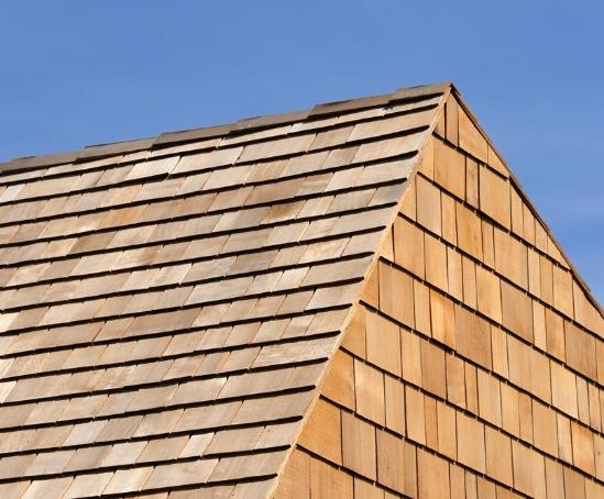 Western Red Cedar Blue Label (No.1 Grade) Shingles
