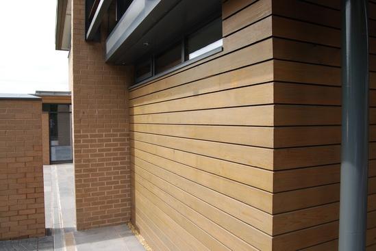 Western Red Cedar No.4 Grade - Channel Profile