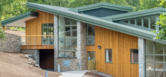 Pre Finished Thermowood Cladding Protects Outdoor Centre