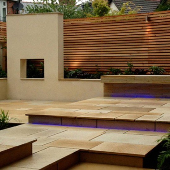 Western Red Cedar Slatted Screens Silva Timber Esi