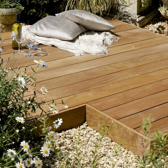 Ip smooth hardwood decking silva timber esi external for Smooth hardwood decking boards