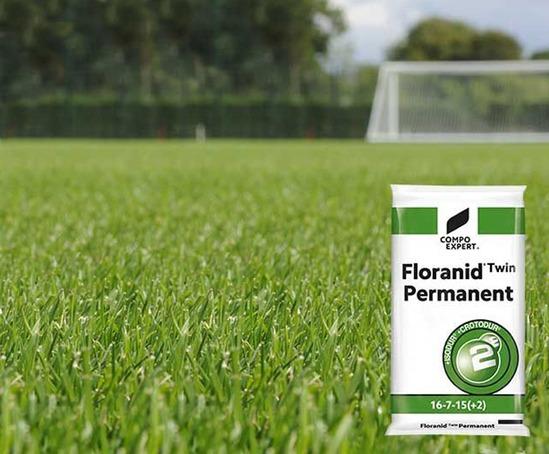 Permanent Twin fertiliser for landscaping, horticulture