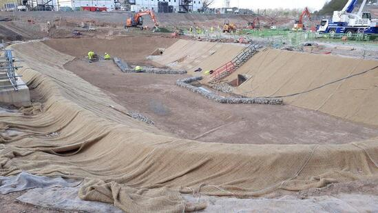 SubSoil supplied to RMC McRail Construction