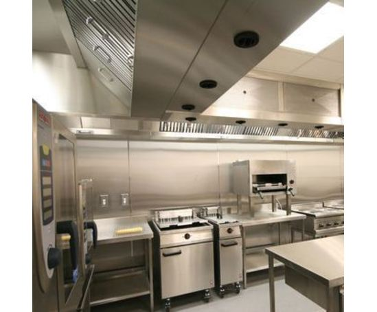 Econex Energy Saving Extract Canopy For Kitchens