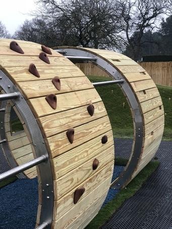 Bespoke play equipment for Market Rasen Racecourse