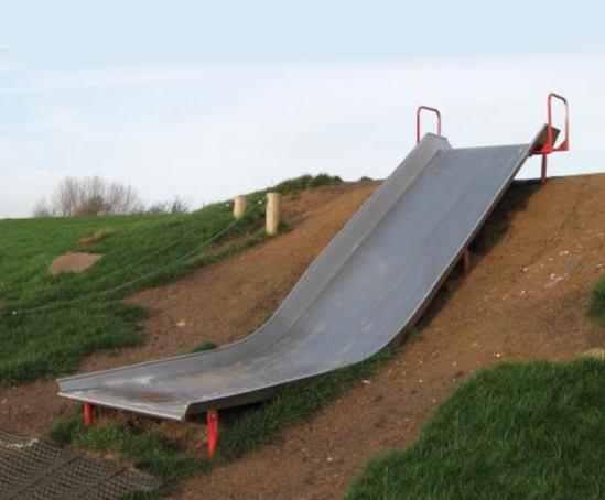 Double Width Embankment Trough Slide