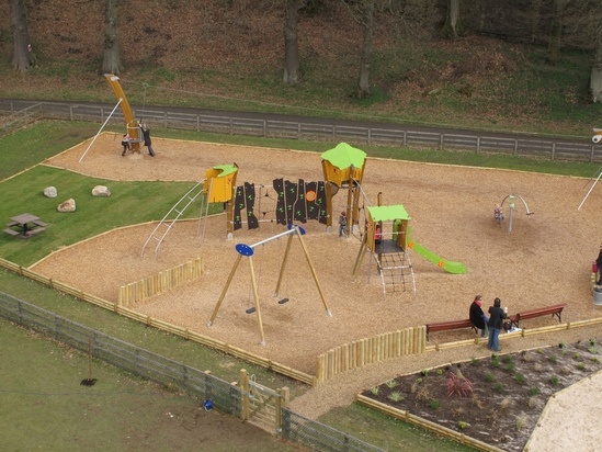 Refurbishment Of Fitz Park Play Area Cumbria Proludic
