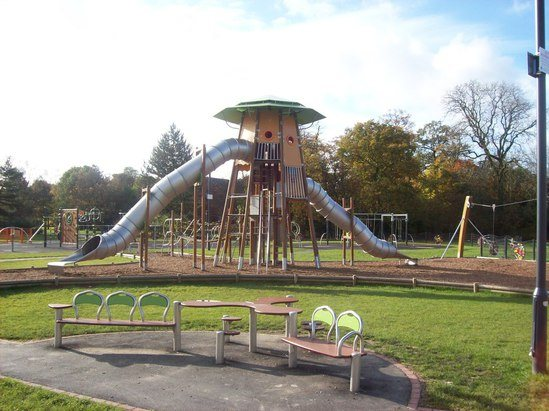 New Play Park For All Ages Withy Grove Bamber Bridge