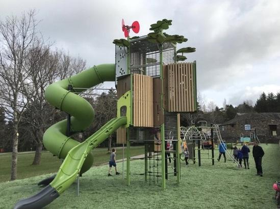 8 metre high Kanope play tower