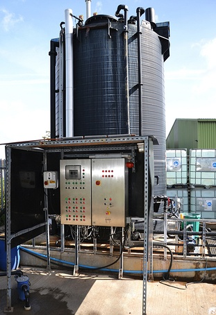 Effluent monitoring and batch control - Brenntag