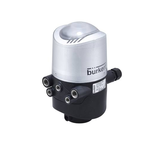Type 8681 control head for hygienic process valves