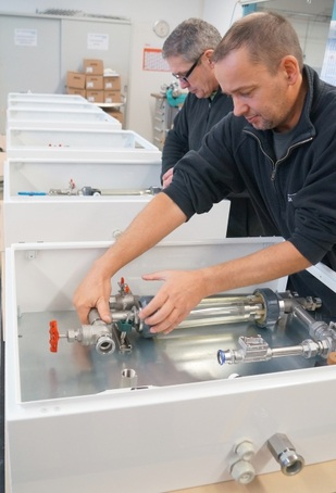 Process control panel assembly