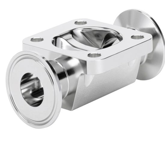 Re-engineered diaphragm valve to optimise performance
