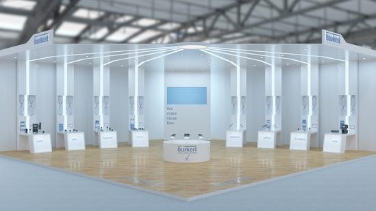 Bürkert virtual exhibition