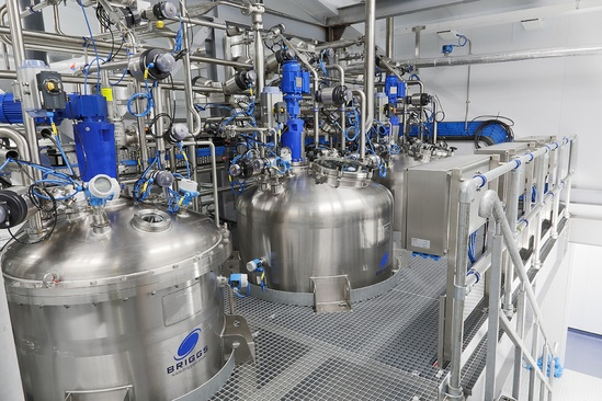 Industrial valves improve efficiency for new facility