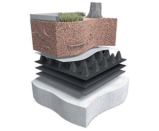 Deckdrain Geocomposite Drainage Layer Abg