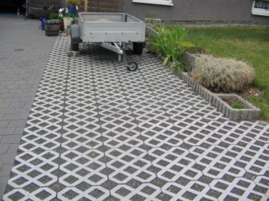 Heavy Duty Driveway Pavers : Truckcell™ heavy duty cellular paving intensive usage