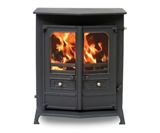 Country 16b mf multi fuel central heating boiler stove a j wells esi interior design - Gas wood central heating unit ...