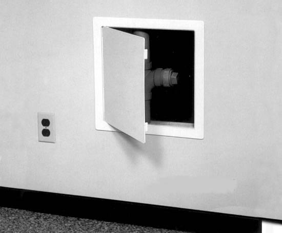 Wall Access Panel : Plastic access panels made in uk building