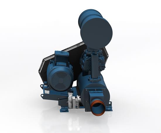 Aerzen Delta Hybrid Screw Blower Aerzen Machines Esi