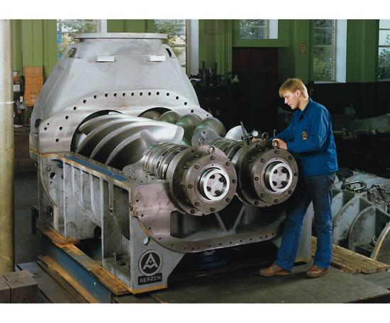 Rotary Screw Blower : Aerzen vra process gas compressors machines esi