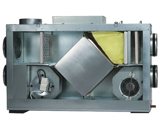 Helios KWLC 350 Heat Recovery Ventilation Units