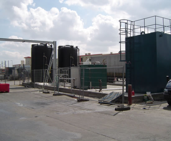 Design, build and commision of treatment plant