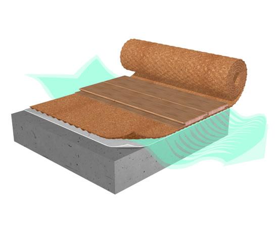 Acousticork C31 Underlay For Laminate Floors Amorim Esi