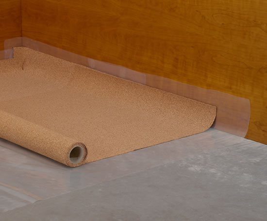 Acousticork c31 underlay for laminate floors amorim for Laminate flooring underlay