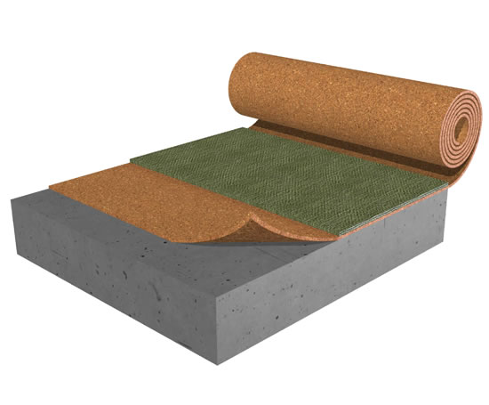 Acousticork C61 Underlay For Carpeted Floors Amorim