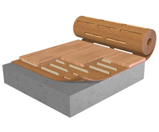 Acousticork T31 Underlay For Hardwood Floors Amorim