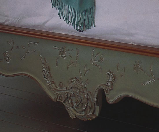 Floral collection hand painted bed and so to bed esi for And so to bed