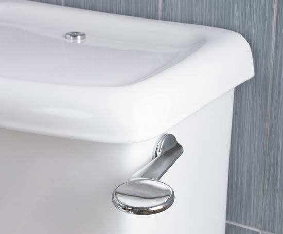 Contour 21 ambulant close coupled WC