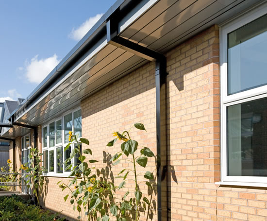 Stirling Aluminium Box Gutters Capacity Up To 17 L Sec
