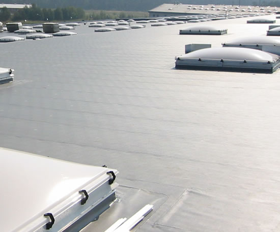 Single Ply Membrane : Atlantic single ply roofing system bailey esi building
