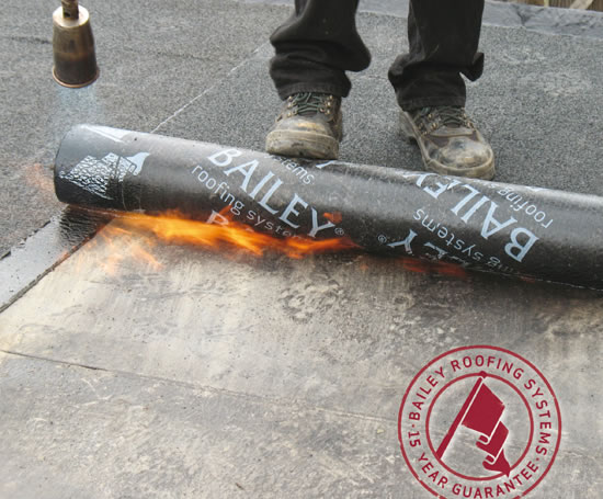 Commodity Systems Torch On Felt Roofing Systems Bailey