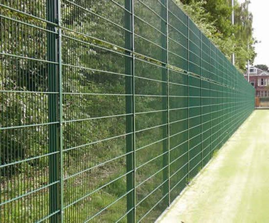 Sports bronze mesh fencing barkers esi