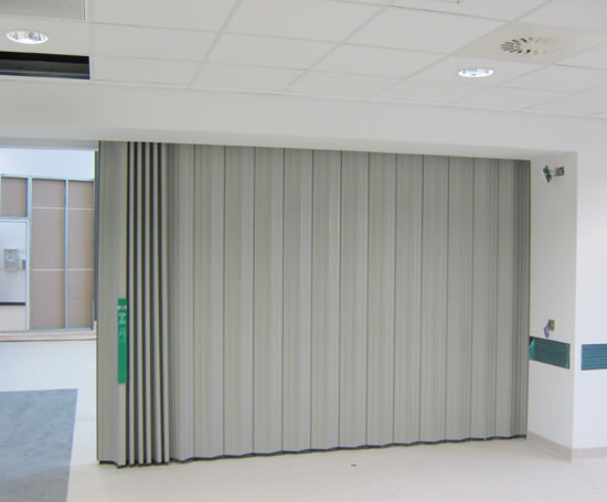 Fireguard Automatic Horizontal Sliding Fire Partition