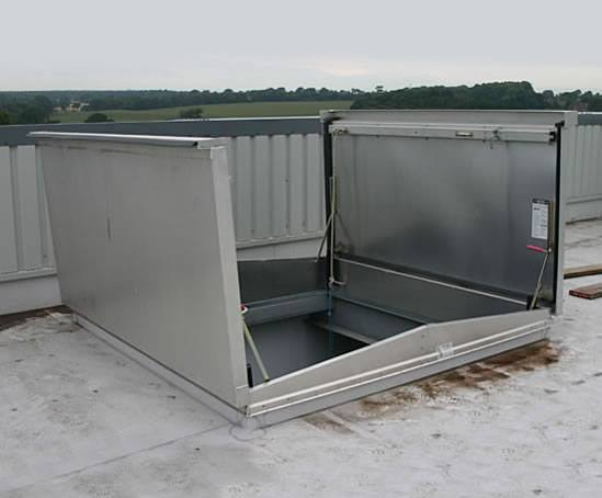 Bilco Access Doors : D t equipment access roof hatch bilco uk esi