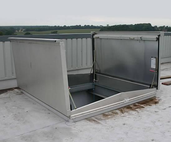 Type D 50t Equipment Access Roof Hatch Bilco Uk Esi
