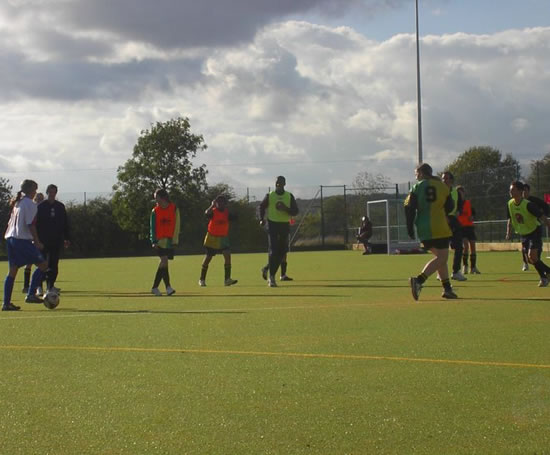Sharnbrook Upper School Synthetic Pitch