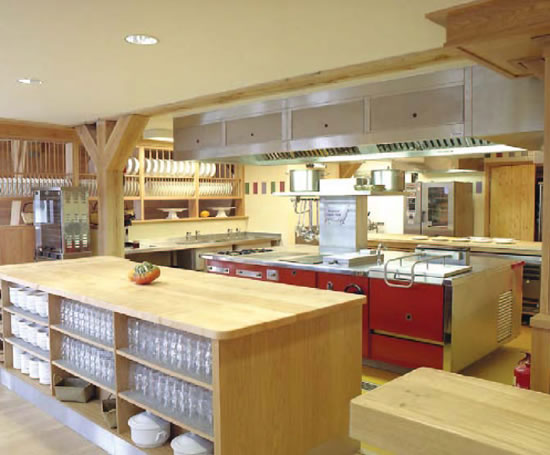 Kindersley Centre Kitchen Canopy
